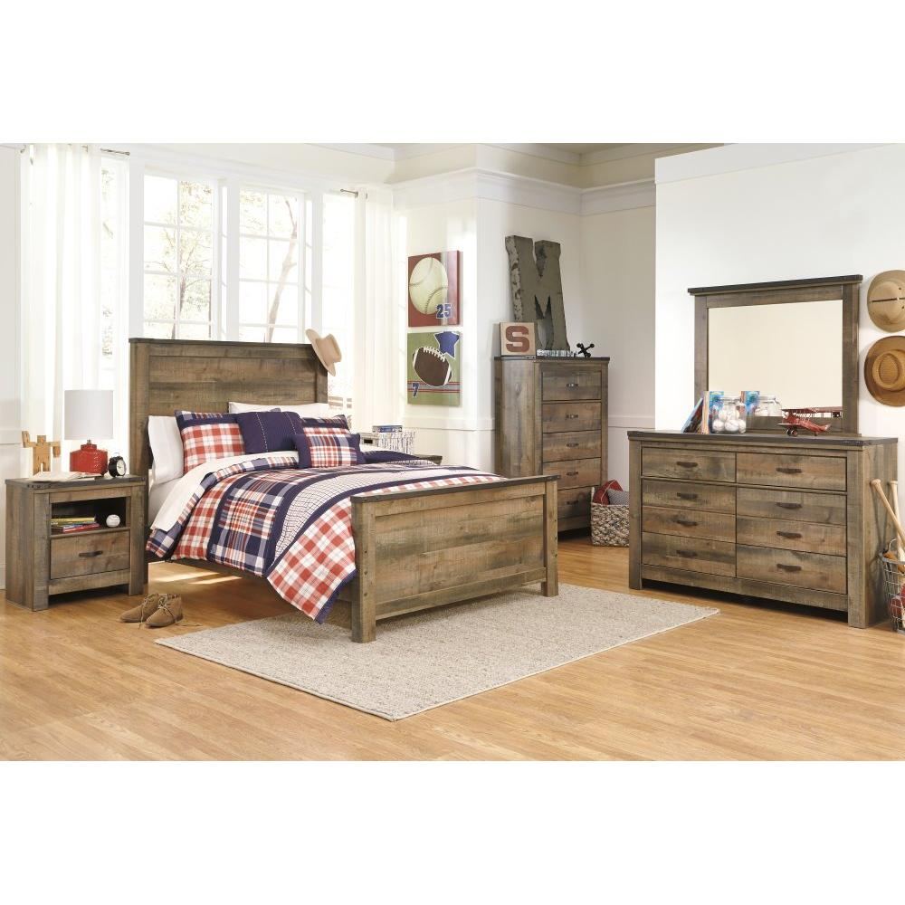 Trinell Full Panel Bed