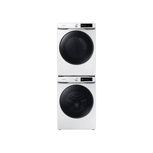 Samsung - 7.5 cu. ft. Smart Dial Gas Dryer with Super Speed Dry in White