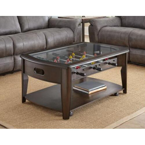 Diletta 3-Piece Game Set(Foosball Cocktail & 2 Game End Tables)