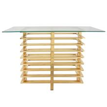 Product Image - Metal Stacked Console Table, Gold