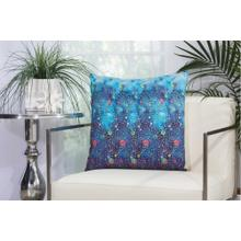 """Outdoor Pillows Ti779 Multicolor 20"""" X 20"""" Throw Pillow"""