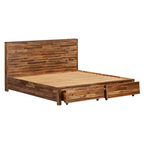 Bushwick Wooden Storage Bed in Queen