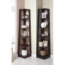 5-tier Book Shelf, Walnut