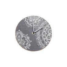 See Details - Henna Print Tabletop Clock
