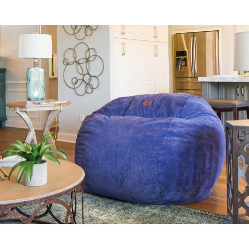 King Chair - Corduroy - Grey