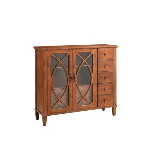 Briley 2-door 7 Drawer Cabinet In Wood Tone