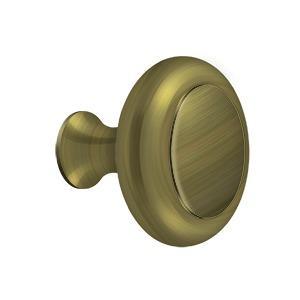 Deltana - Knob HD w/ Groove - Antique Brass