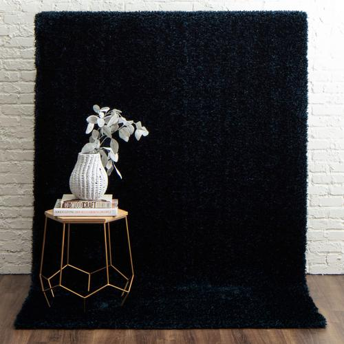 Couture Shag Majolica Blue 3'x5' / Serge