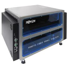 Robotic Fiber Panel System with Mini Chassis - 204 Multimode LC Fiber Ports