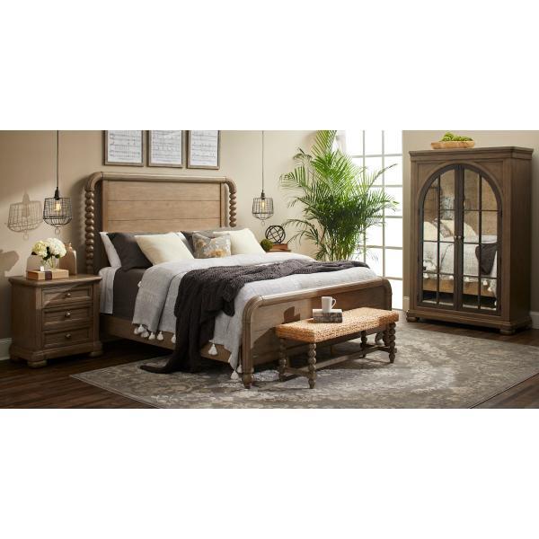 Nashville Queen Bed Complete Panel Post