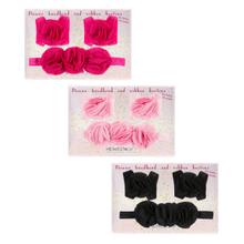 See Details - 12 set ppk. Flower Headband & Bootie Set/3 (12 pc. set)