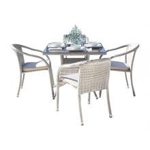 See Details - Santorini 5 PC Dining Set