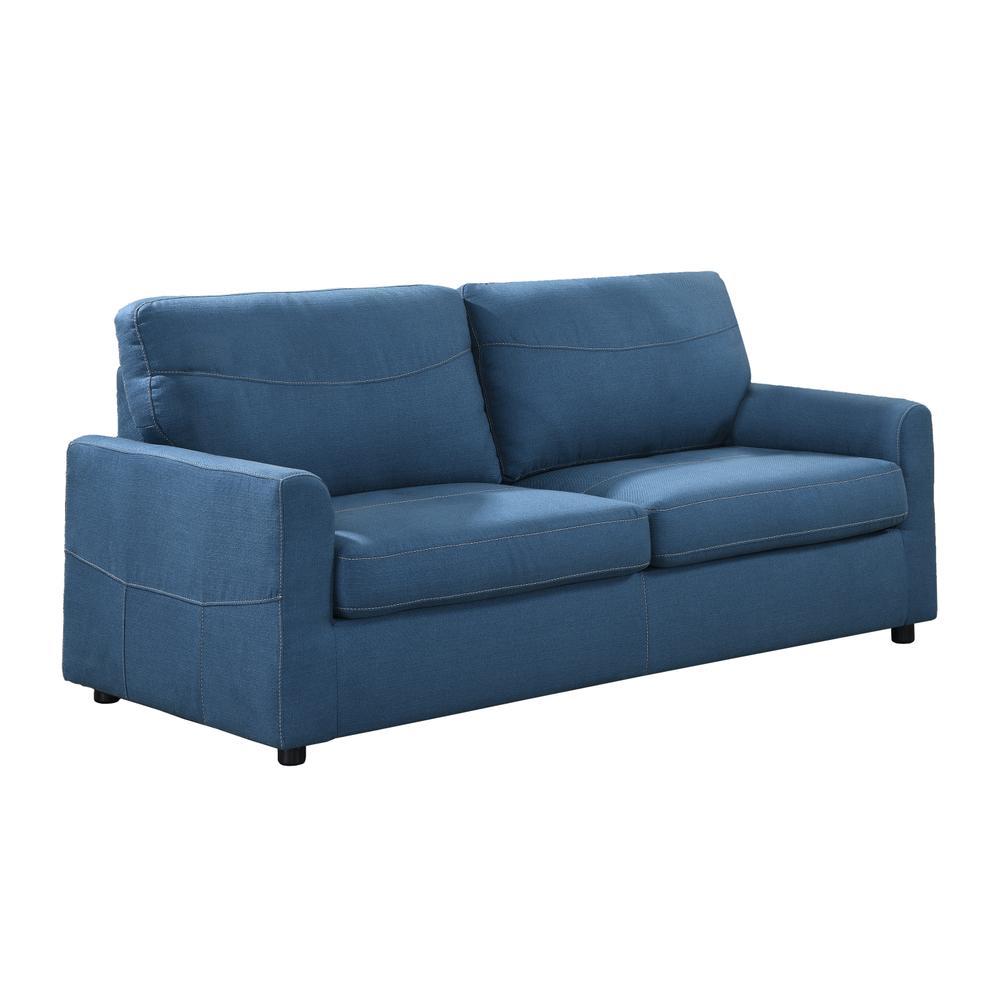 Slumber Queen Sleeper Sofa, Blue U3215-50-24
