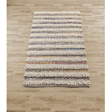 Fringe Boho Colorful Chindi 5' x 8' Rug (Each One Will Vary)