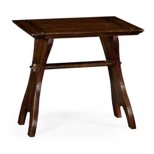 Oak tavern dining table small