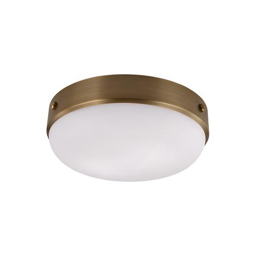 Cadence Medium Flush Mount Dark Antique Brass