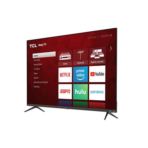 """TCL 55"""" Class 5-Series 4K UHD Dolby Vision HDR Roku Smart TV - 55S525"""