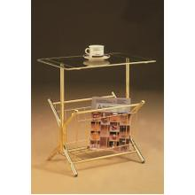 See Details - TABLE RACK (BRASS)