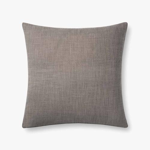 P0737 Charcoal / Grey Pillow