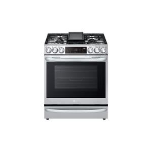 LG Appliances6.3 cu ft. Smart Wi-Fi Enabled ProBake Convection® InstaView™ Gas Slide-in Range with Air Fry