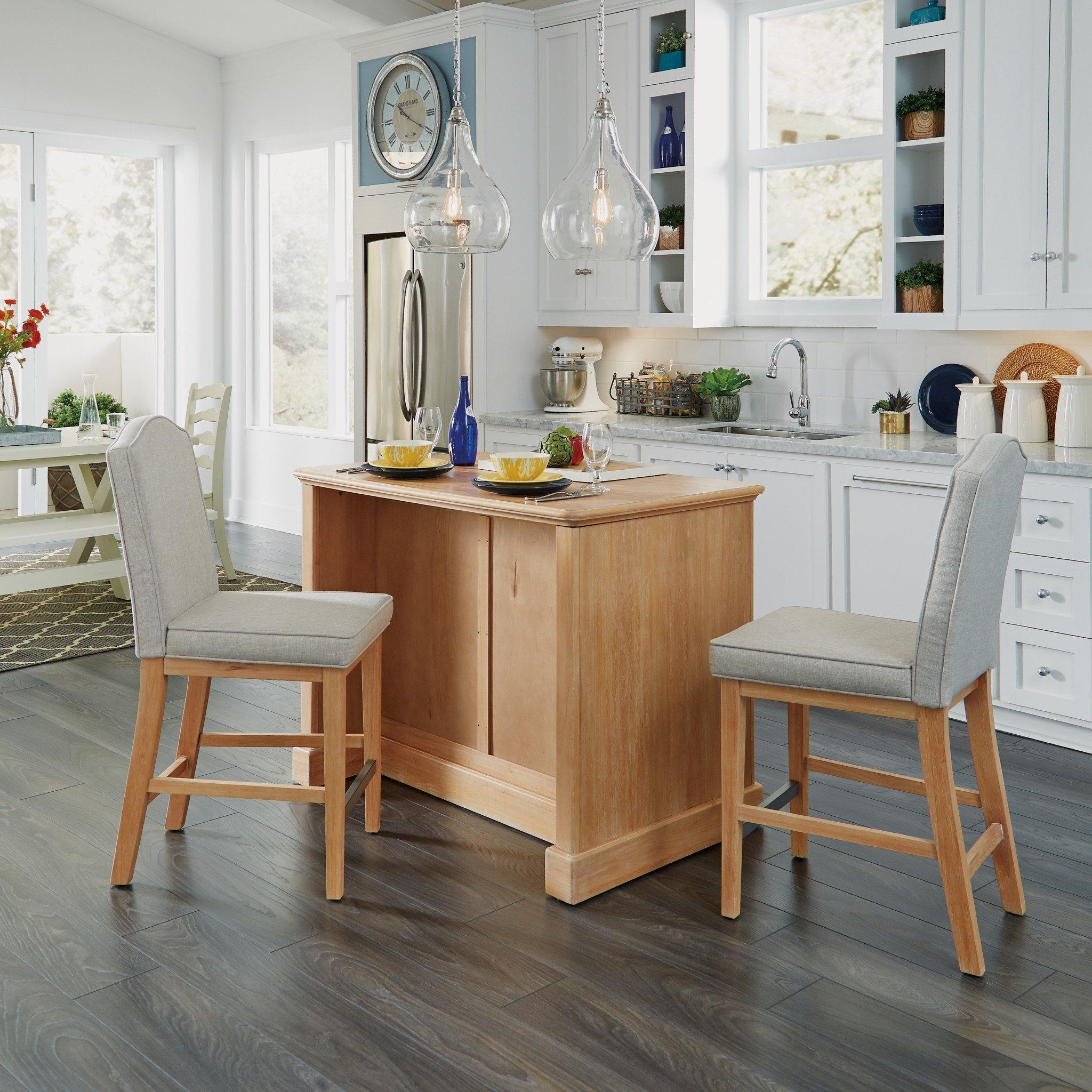 HomestylesClaire 3 Piece Kitchen Island Set