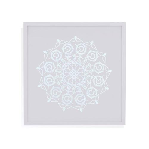 Silver Foil Mandala III