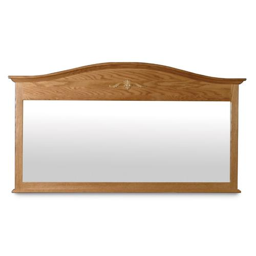 Arch Top Bureau Mirror, Large
