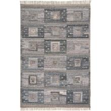 "BECKETT 0816F IN CHARCOAL/MULTI 3'-6"" x 5'-6"""