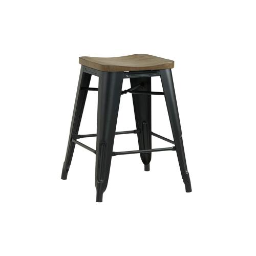 5047 2-Pack Backless Stools - Assembled