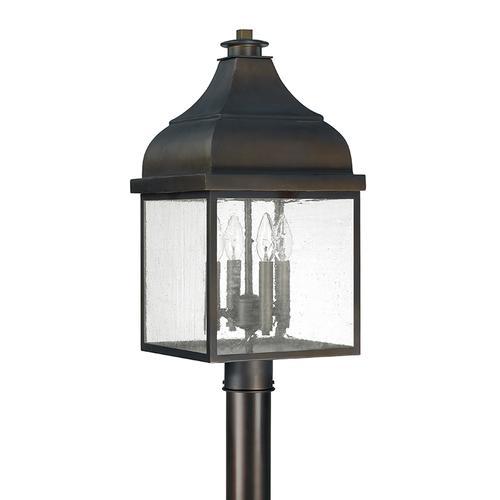 Capital Lighting - 4 Light Outdoor Post Lantern