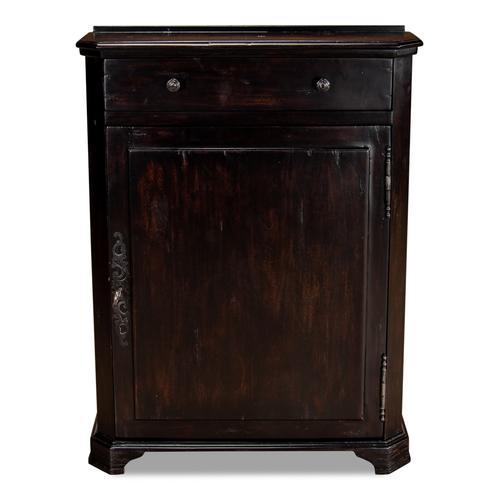 Dante Hall Cabinet, Ebony