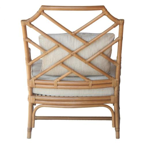 Product Image - Kara Rattan Accent Arm Chair, Canary Brown