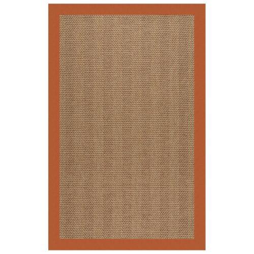 "Islamorada-Herringbone Canvas Rust - Rectangle - 24"" x 36"""