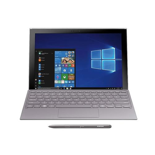 """Samsung - Galaxy Book2 12"""", 128GB, Silver (Sprint), S Pen and Keyboard included"""