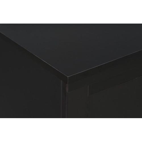 Modesto 6-Drawer Dresser, Black