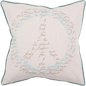 "Decorative Pillows JS-050 22""H x 22""W"