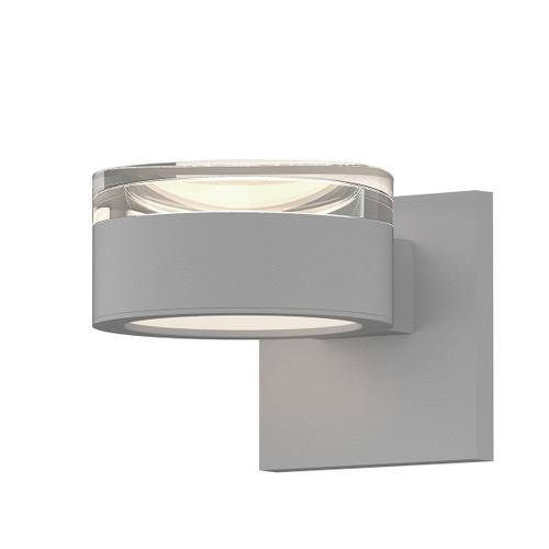 Sonneman - A Way of Light - REALS® Up/Down LED Sconce [Color/Finish=Textured White, Lens Type=Clear Cylinder Lens and Plate Lens]