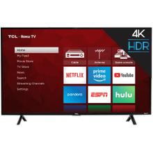 "TCL 49"" Class 4-Series 4K UHD HDR Roku Smart TV - 49S403"