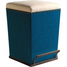 See Details - Thatch Fabric Purveyor Counter Stool in Aqua Finish