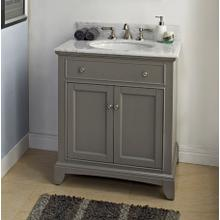 "See Details - Smithfield 30"" Vanity - Medium Gray"