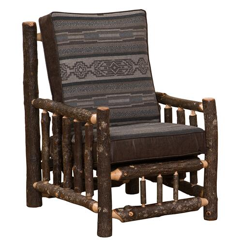 Lounge Chair - Natural Hickory - Upgrade Fabric