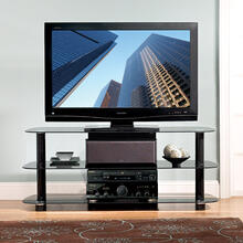 PVS4214HG High Gloss Black A/V System for most Flat Panel TVs up to 55 inches from Bell'O International Corp.
