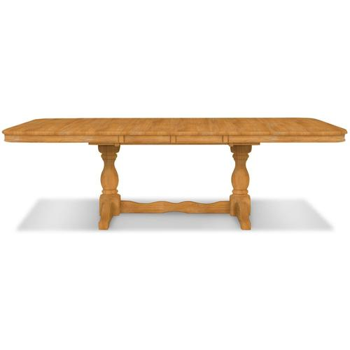 Double Butterfly Leaf Table (top only) / Double Pedestal Base