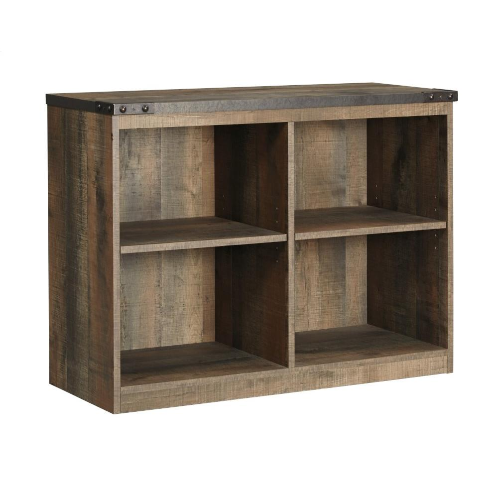 Trinell Twin Loft Bed With 3 Drawer Storage and Bookcase