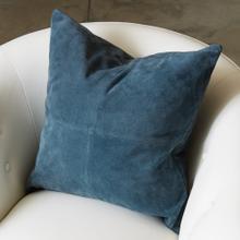 Four Square Pillow-Sapphire