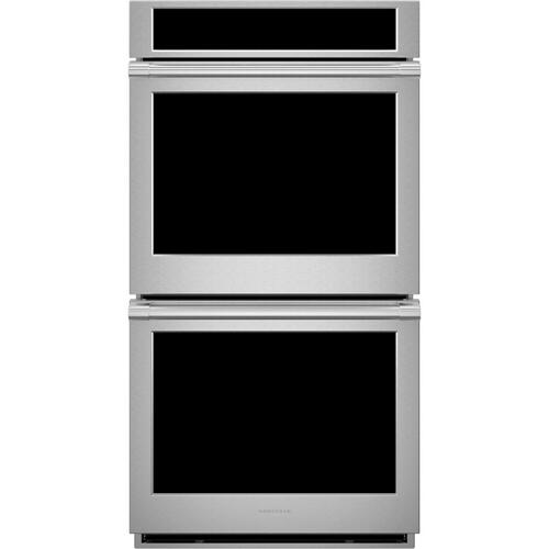 "Monogram 27"" Smart Electric Convection Double Wall Oven Statement Collection"
