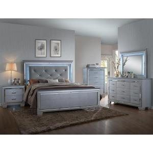 Lillian King LED Headboard