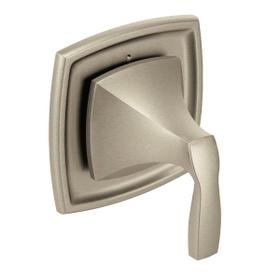 Voss brushed nickel transfer valve trim
