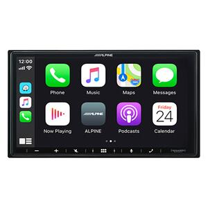 """Alpine - 7-Inch Shallow-Chassis Multimedia Receiver with PowerStack """""""