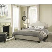 Hanover Mattress Paris Linen Tufted Full Platform Bed Frame, HBEDUPPARI-LN-FL